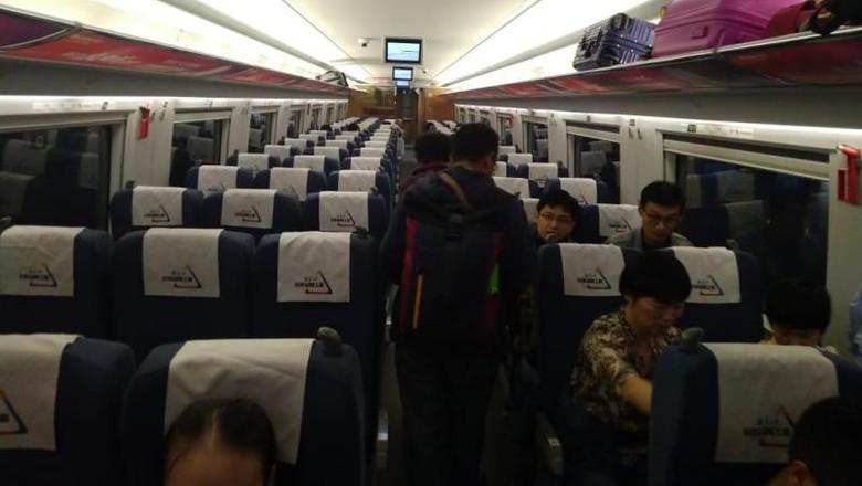 Kereta Cepat di China