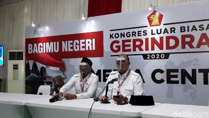 KLB Gerindra di Hambalang, Bogor.