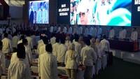 KLB Gerindra Pengukuhan Prabowo Ketum Dimulai, Sandiaga Hingga Fadli Zon Hadir