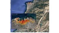 NASA Petakan Kerusakan Akibat Ledakan di Lebanon
