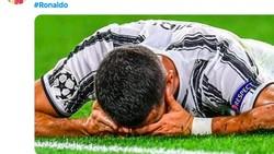 Juventus Kalah, Netizen Tetap Puja Ronaldo