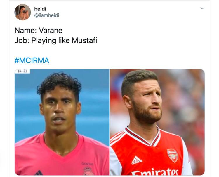 Meme Raphael Varane
