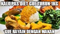 Nikmatnya Masakan Padang Jadi Inspirasi 10 Meme Kocak Ini