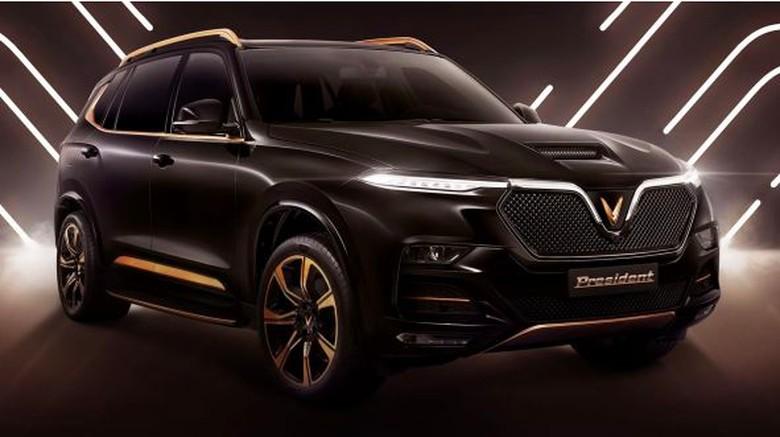 Mobil Nasional Vietnam dalam bentuk SUV Mewah