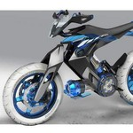 Gila! Motor Konsep Yamaha Ini Tidak Lagi Gunakan Bensin Tapi Air