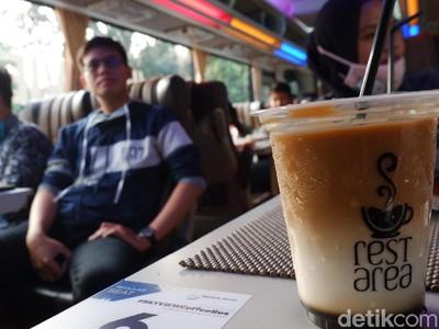 Sensasi Ngopi Sambil Keliling Kota Bandung
