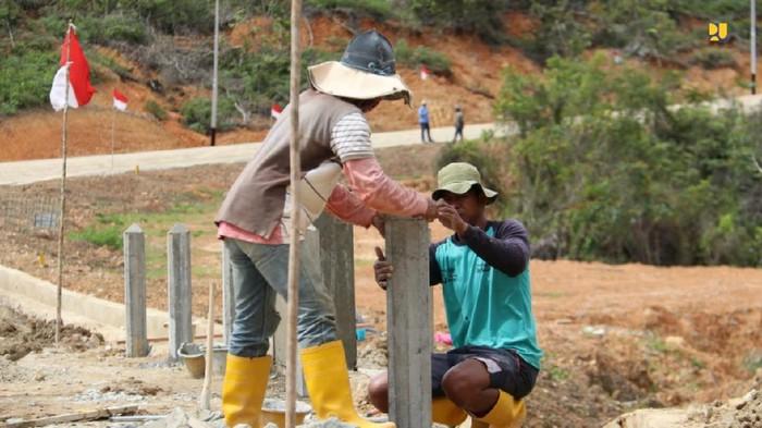 Pembangunan jalan perbatasan Indonesia-Malaysia di Kalimantan Utara