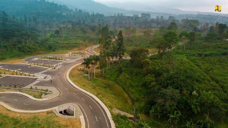 Pembangunan rest area di kawasan Puncak Kabupaten Bogor