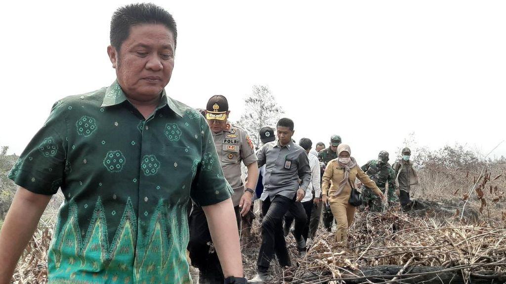 Kucurkan Rp 45 M, Gubernur Sumsel Minta Penanganan Karhutla Maksimal