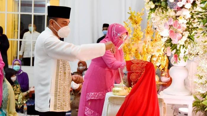 Rangkaian acara pernikaha putri Gubernur Sumut Edy Rahmayadi.