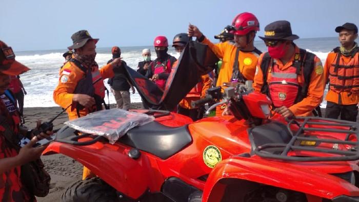 Satu lagi korban yang terseret ombak di Pantai Goa Cemara, Bantul ditemukan dalam kondisi meninggal, Sabtu (8/8/2020).