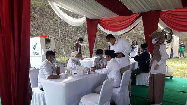 Suasana KLB Gerindra di Kediaman Prabowo