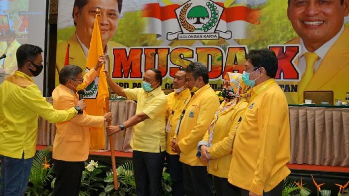 Taufan Pawe terpilih jadi Ketua DPD Golkar Sulsel (dok. Istimewa).