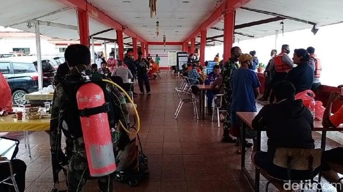 Tim SAR gabungan masih mencari WN Amerika yang hilang di perairan Ambon.