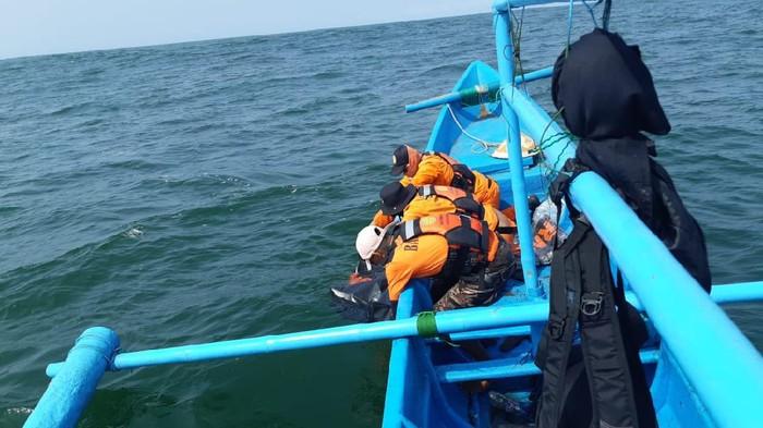 Wisatawan terseret ombak Pantai Goa Cemara, Bantul kembali ditemukan dalam kondisi tewas, Sabtu (8/8/2020).