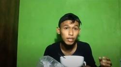 YouTuber Ini Pilih Mukbang Angin, Gimana Ya Cara Makannya?