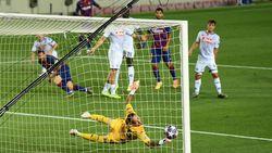 Diwarnai Gol Cantik Messi, Barcelona Ungguli Napoli 3-1 di Babak I
