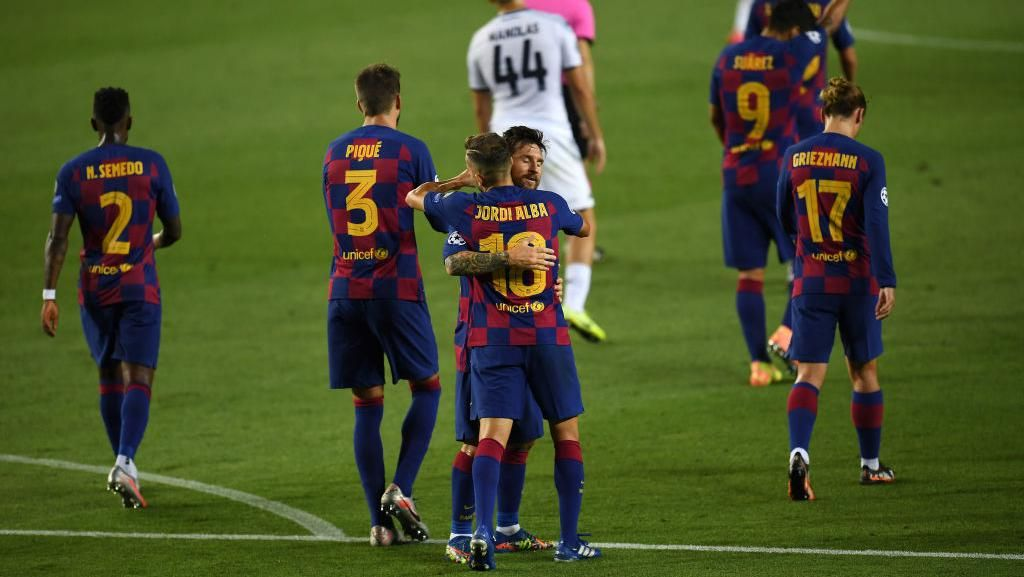 Barcelona Vs Napoli: Kandaskan Il Partenopei 3-1, Blaugrana ke 8 Besar