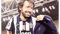 Meme Pirlo Jadi Pelatih Juventus, Lebih Muda dari Buffon