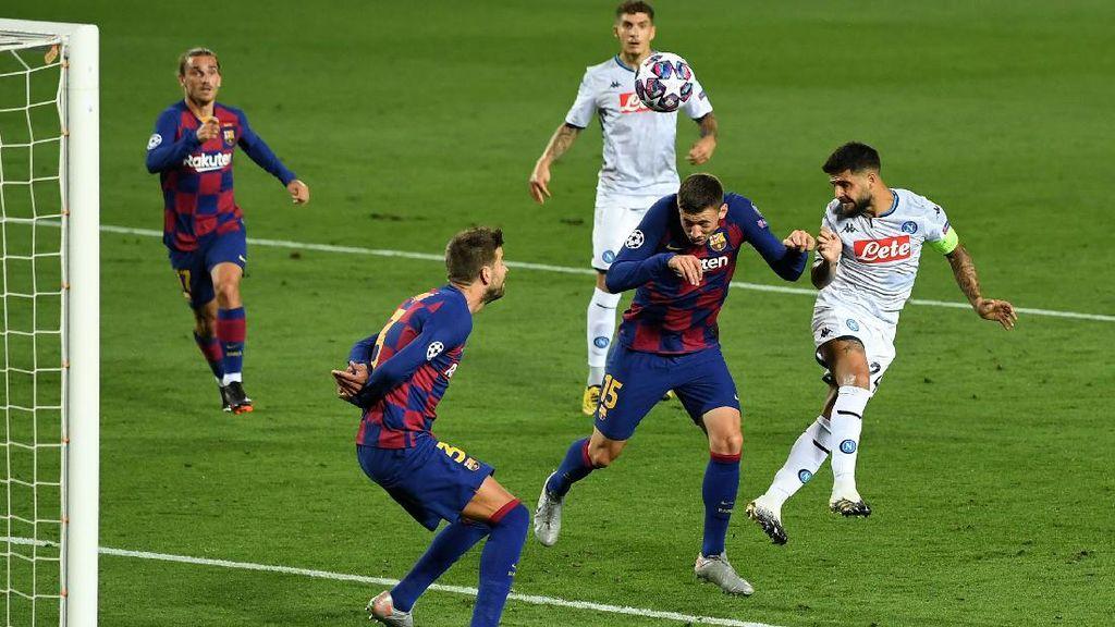Barcelona Gugup Juga Hadapi Napoli