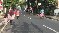 Meski Ada Larangan, Masih Banyak Anak Kecil Ikut CFD di Cipete Raya Jaksel