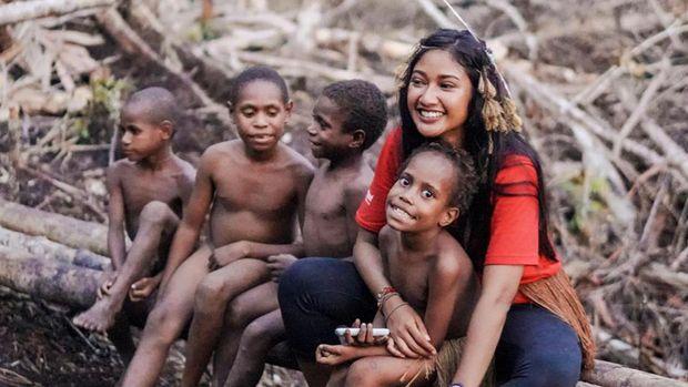 Claresta Taufan dan Kisah Jatuh Hatinya pada Papua
