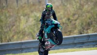 Naik Podium di MotoGP Ceko, Morbidelli: Berkat Om Rossi