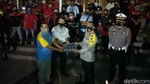 Gerakan Jatim Bermasker di Kota Kediri Gandeng Komunitas Otomotif
