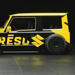 Penampakan Suzuki Jimny Tampil Ceper Ala Mobil Rat Rod