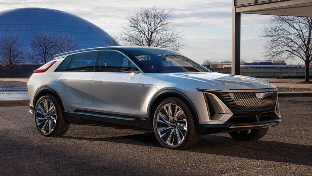 SUV Listrik Pertama Cadillac, Sekali Cas Bisa Gaspol Jakarta-Kudus
