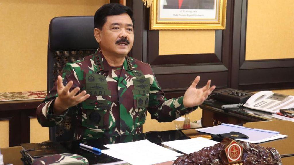 Panglima TNI Kerahkan Babinsa 3 Matra Bantu Penegakan Protokol Kesehatan