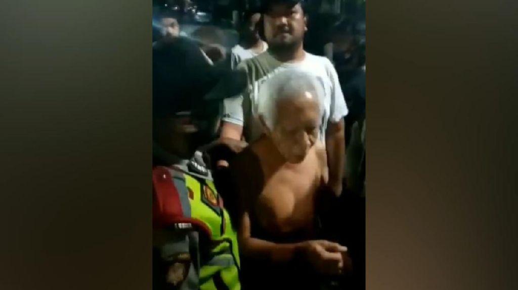 Video Detik-detik Pria di Bandung Diamankan Polisi, Diduga Hina Agama