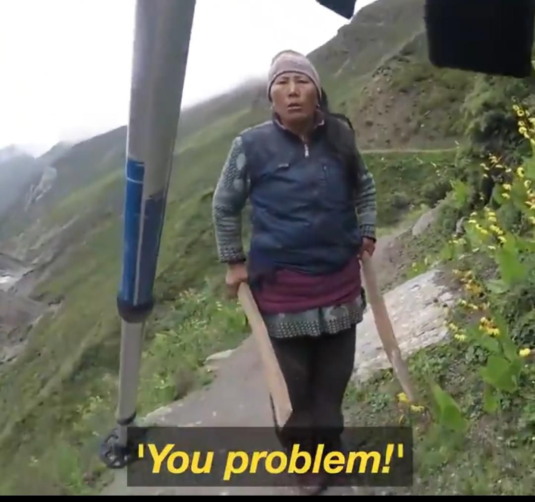 penjual teh nepal marah