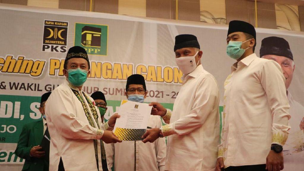 PKS-PPP Deklarasi Usung Pasangan Mahyeldi-Audy Joinaldi di Pilgub Sumbar