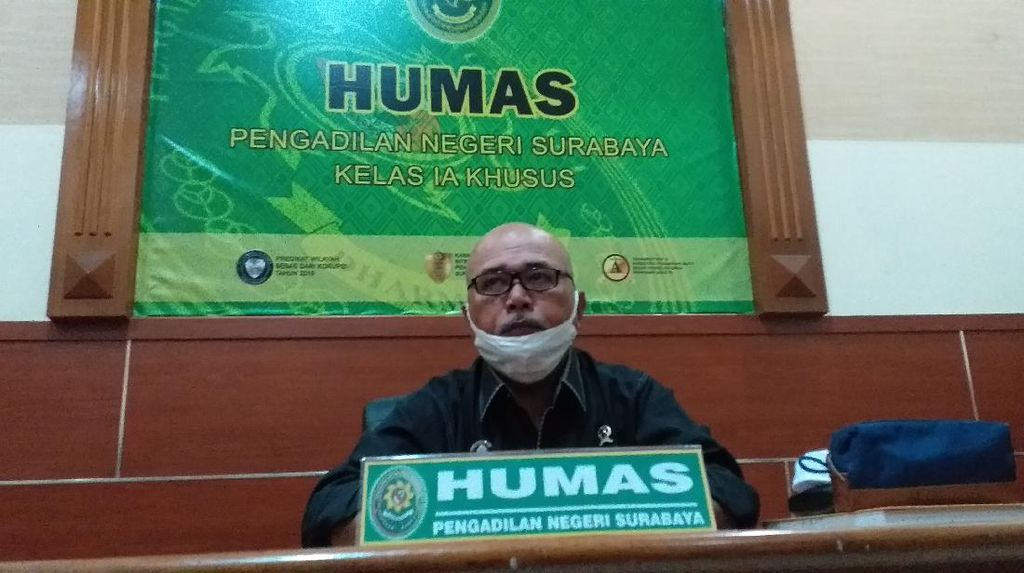5 Pegawai Positif COVID-19 Usai Mudik Idul Adha, PN Surabaya Lockdown Lagi