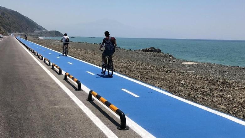 Rute sepeda di Turki.