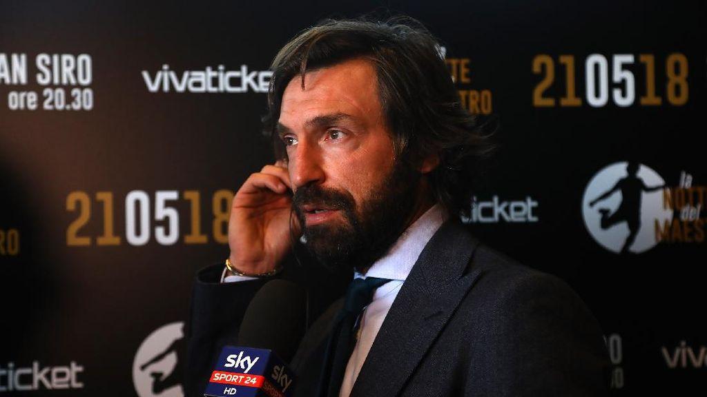 Mantan Bos Inter Puji Keberanian Juventus Angkat Pirlo Jadi Pelatih