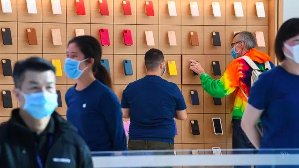 Apple Impor Baju Pegawai dari Pabrik China yang Dituduh Langgar HAM