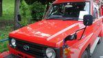 Begini Jadinya kalau Land Cruiser Jadi Mobil Pemadam Kebakaran