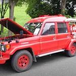Keren Juga Nih, Toyota Land Cruiser Jadi Mobil Damkar