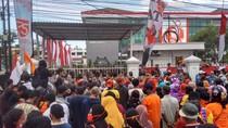 Usai dari Gedung GKN Medan, Massa Sari Rejo Demo Kantor BPN