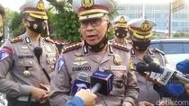 Polisi: Kecelakaan Truk di Jaktim Tabrak 3 Taksi-1 Angkot, Tak Ada Korban
