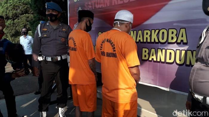 Dua kurir narkoba di Bandung ditangjkap polisi