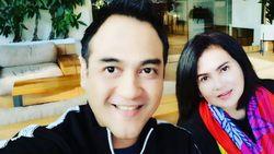Klaim Tak Tinggalkan Istri, Ferry Irawan: Saya Temani Anggi Saat COVID-19