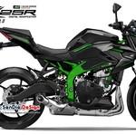Ini Perkiraan Desain Kawasaki Ninja ZX-25R Versi Naked