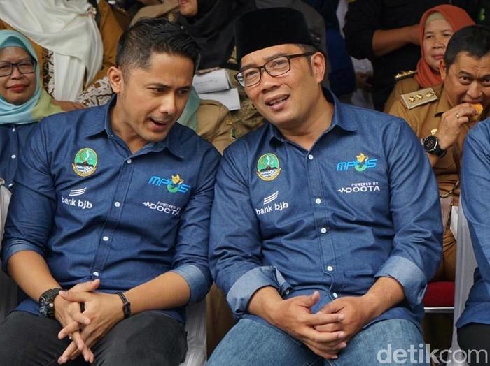 Hengky Kurniawan dan Ridwan Kamil