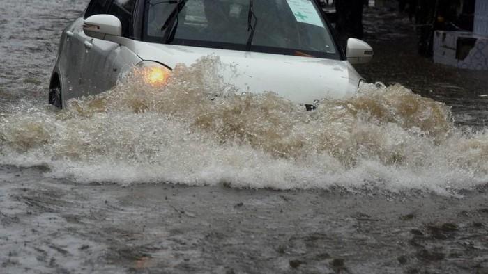 Hujan lebat memicu tanah longsor di India (AFP Photo)