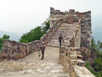 Foto: Sisi Tembok Besar China yang Berbahaya