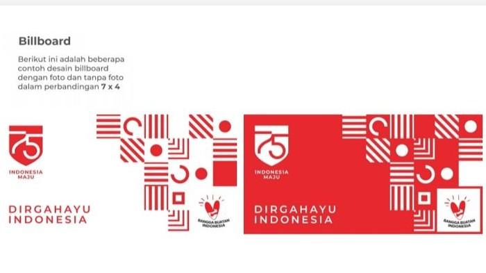 Logo HUT ke-75 RI