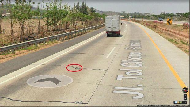 Lokasi Tabrakan Elf Vs Minibus di Tol Cipali Via Google Maps